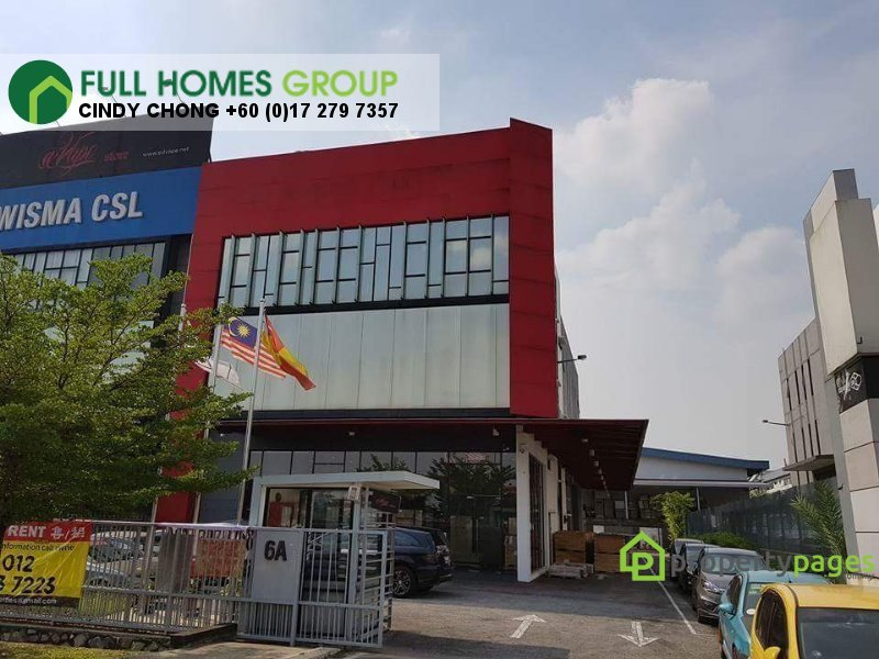 warehouse for sale 40150 shah alam myla43046283