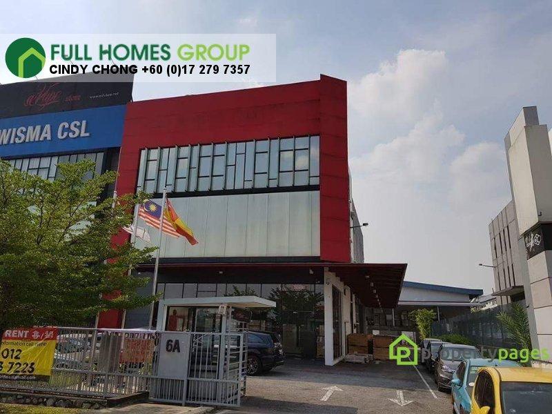 warehouse for sale 40150 shah alam myla43046283
