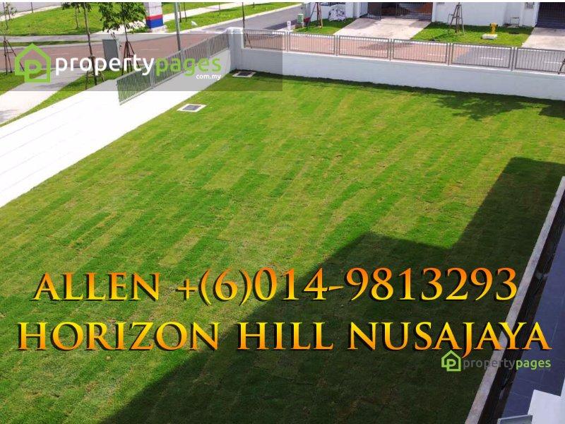 cluster house for sale 4 bedrooms 79100 nusajaya myla20570617