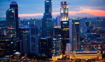 Property pickup buoys Singapore banks'