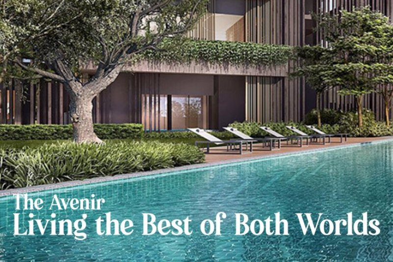 The Avenir : Living the best of both worlds with the fast-paced city and the astounding beauty of nature