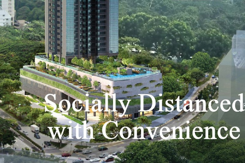Socially Distanced with Convenience