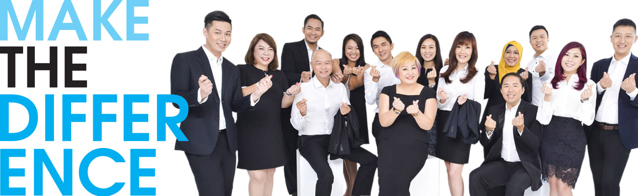 We are the most credible real estate team in Singapore