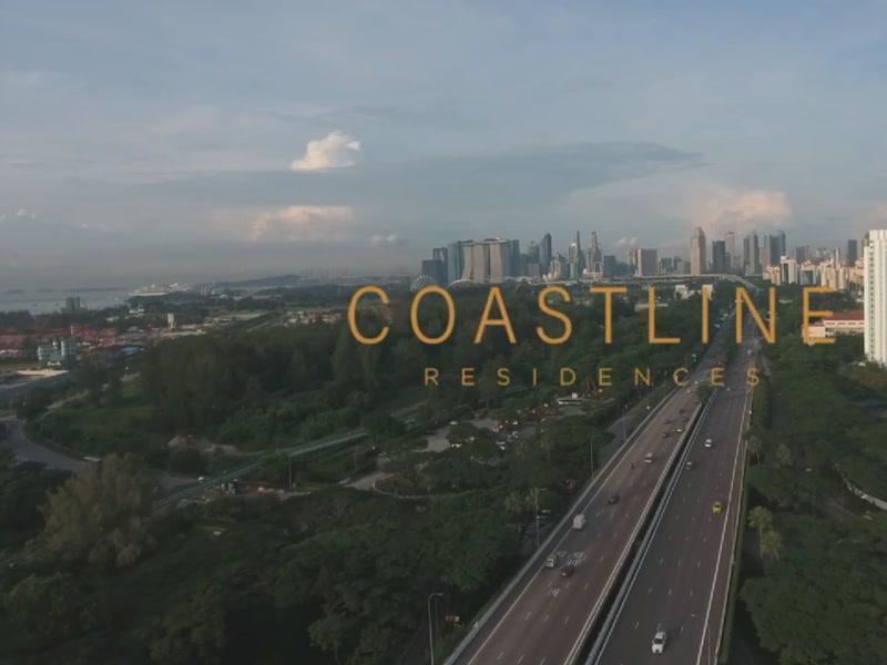 Coastline Residences - Drone Video