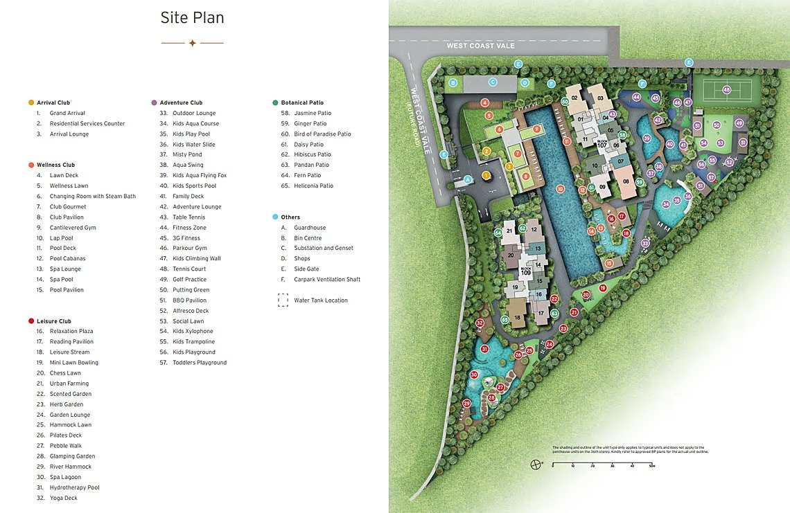whistler grand site map