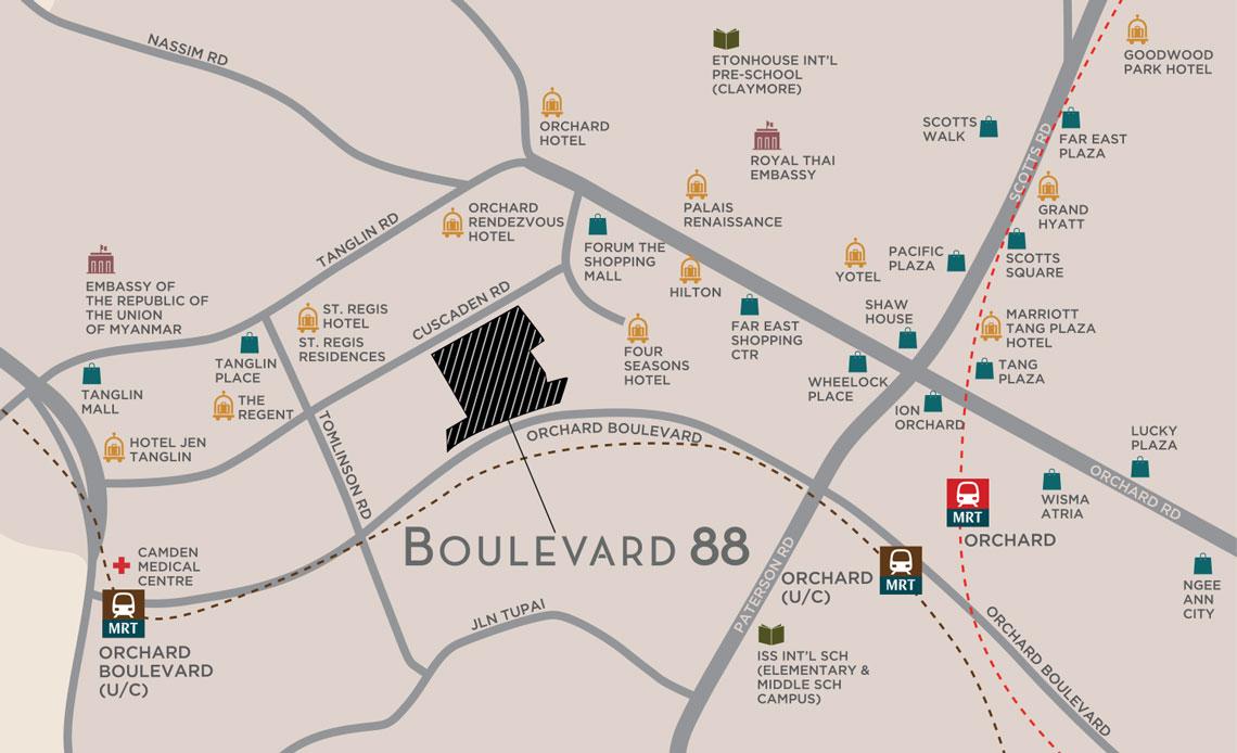 boulevard 88 248656 sglp45236872